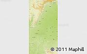 Physical 3D Map of Raj Nandgaon
