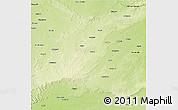 Physical 3D Map of Sagar