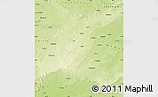 Physical Map of Sagar