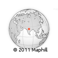 Outline Map of Vidisha