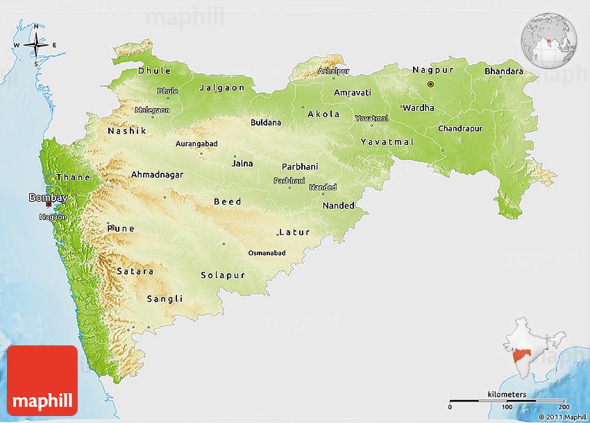 Physical 3D Map of Maharashtra, single color outside on ajanta on map, goa map, bihar map, india map, nagaland map, arunachal pradesh map, madhya pradesh map, kashmir map, andhra pradesh map, west bengal map, aurangabad map, nagpur map, chhatrapati shivaji international airport map, meghalaya map, pune region map, punjab map, gujarat map, palghar district map, tripura map, mumbai map,