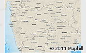 Shaded Relief 3D Map of Maharashtra