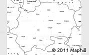 blank maharashtra map