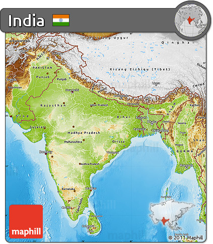 Free Physical Map of India on goa india, physical map cyprus, physical map myanmar, rivers of india, capital of india, physical map somalia, northern plains of india, national flower of india, landforms in india, deccan plateau india, location and geography of india, ganges river india, economy of india, region of india, mumbai india, europe map from nepal india, indus river in india, physical features map, chennai india, maps of only india,