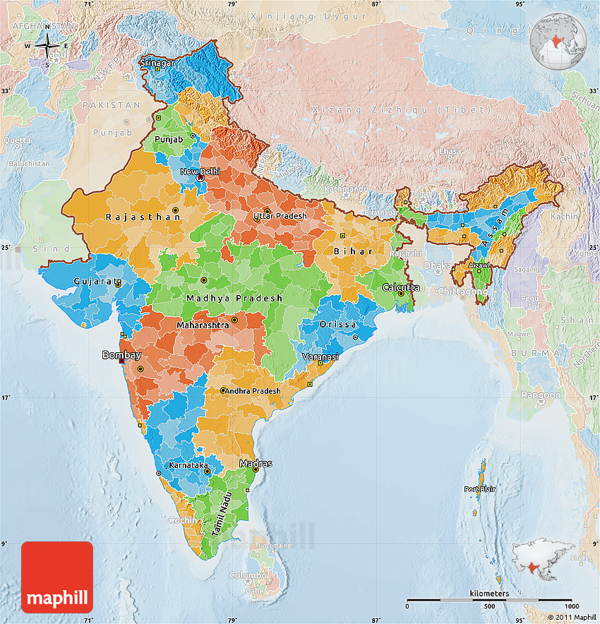 Political Map of India, lighten on strasbourg map, gstaad map, basel map, hanover map, swiss alps map, zermatt map, dissolution soviet union map, lugano map, wald map, stockholm sweden map, verbier map,