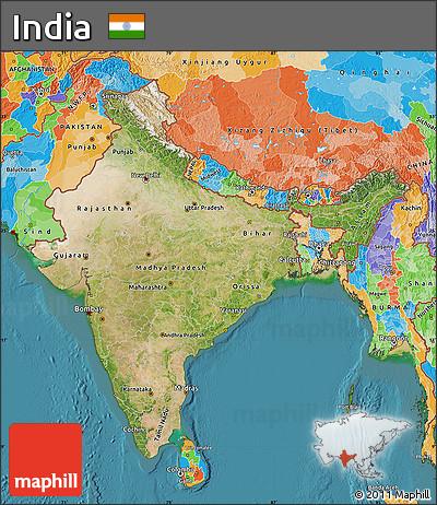 satellites of india