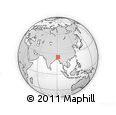 Outline Map of Meghalaya