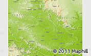 Physical Map of Dhenkanal
