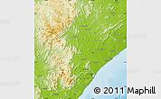 Physical Map of Ganjam