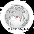Outline Map of Ganjam