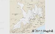 Classic Style 3D Map of Koraput