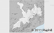 Gray 3D Map of Koraput