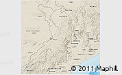 Shaded Relief 3D Map of Koraput