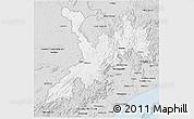 Silver Style 3D Map of Koraput