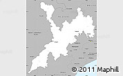 Gray Simple Map of Koraput