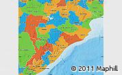 Political Map of Orissa