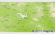 Physical 3D Map of Sambalpur