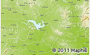 Physical Map of Sambalpur