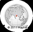 Outline Map of Sambalpur