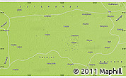 Physical Map of Ludhiana