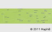 Physical Panoramic Map of Ludhiana