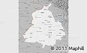 Gray Map of Punjab