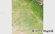 Satellite Map of Punjab