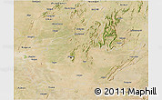 Satellite 3D Map of Jaipur