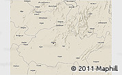Shaded Relief 3D Map of Jaipur