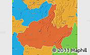 Political Map of Jaipur