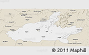 Classic Style Panoramic Map of Jaipur