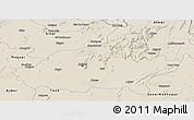 Shaded Relief Panoramic Map of Jaipur