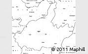 Blank Simple Map of Jaipur