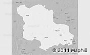 Gray 3D Map of Jodhpur