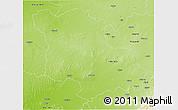 Physical 3D Map of Jodhpur
