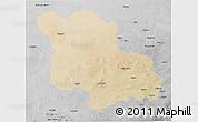 Satellite 3D Map of Jodhpur, desaturated