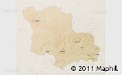 Satellite 3D Map of Jodhpur, lighten