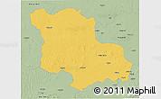 Savanna Style 3D Map of Jodhpur
