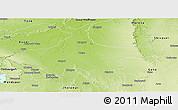 Physical Panoramic Map of Kota