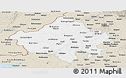 Classic Style Panoramic Map of Rajasthan