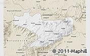Classic Style Map of Nilgiris