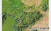 Satellite Map of Nilgiris