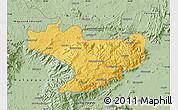 Savanna Style Map of Nilgiris