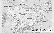 Silver Style Map of Nilgiris