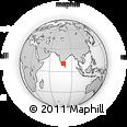 Outline Map of Tiruchchirappalli