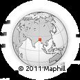 Outline Map of Tripura