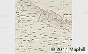 Shaded Relief 3D Map of Uttar Pradesh