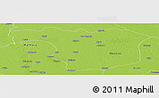 Physical Panoramic Map of Aligarh