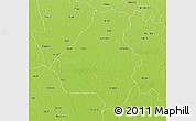 Physical 3D Map of Bareilly