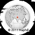Outline Map of Dehra Dun